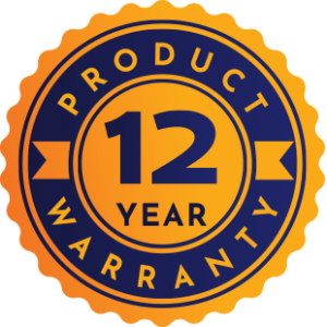 12 Year Product Warranty