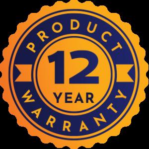 12 Year Product Warranty