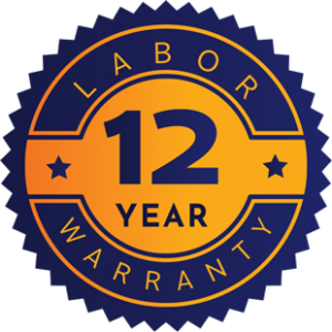 12 Year Labor Warranty
