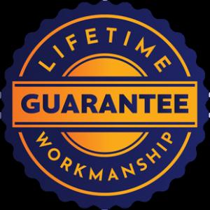 Lifetime Workmanship Guarantee
